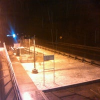 Photo taken at SEPTA NHSL Gulph Mills Station by Keith R. on 2/9/2013