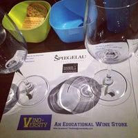 Photo taken at Vino Versity by Steve L. on 11/15/2014