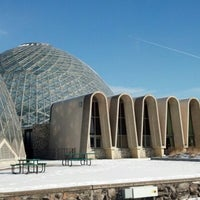 Photo taken at Mitchell Park Horticultural Conservatory (The Domes) by Josh C. on 1/26/2013