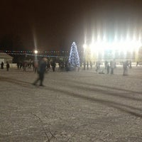 Photo taken at Каток «Новая лига» by Elvira S. on 1/6/2013