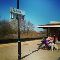 Photo taken at Solihull Railway Station (SOL) by B Y N G .. on 5/1/2013