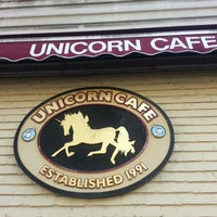 Photo taken at Unicorn Café by Veronica D. on 10/15/2012