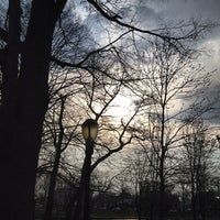 Photo taken at Bowne Park by Sam K. on 4/13/2013