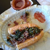 Photo taken at Frankie's South Philly Cheesesteaks and Hoagies by Adán M. on 5/16/2013