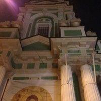 Photo taken at Храм Усекновения главы Иоанна Предтечи под Бором by khevsur on 5/11/2013