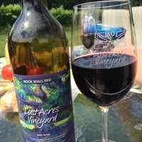 Photo taken at Lost Acres Vineyard by Bethany S. on 7/26/2014