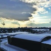Photo taken at Кудрово by Nadia A. on 2/17/2013