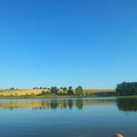 Photo taken at Lac de Montpitol by Sophie W. on 7/6/2013