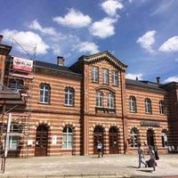 Photo taken at Bahnhof Bernburg by Jörg S. on 7/3/2017