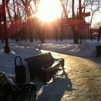 Photo taken at Черкизовский парк by Oxana K. on 2/26/2013