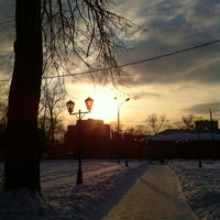 Photo taken at Черкизовский парк by Oxana K. on 2/27/2013