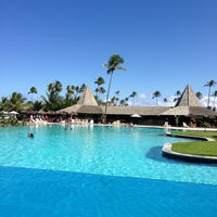 Photo taken at Piscina Vila Gale by Eric C. on 6/23/2013