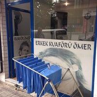 Photo taken at Ömer Çakır & Erkek Kuaförü by Varol K. on 6/5/2014