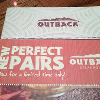 Photo taken at Outback Steakhouse by Daniel C. on 2/18/2013