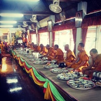 Photo taken at วัดศิริสุขขาราม by Grean O. on 8/12/2013