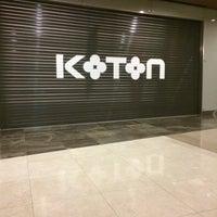 Photo taken at Koton by özge c. on 12/25/2014
