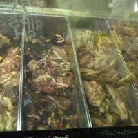 Photo taken at Kalihi Super Meats by Christine K. on 3/8/2014