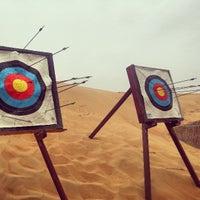 Photo taken at Al Maha Desert Resort & Spa by David M. on 3/21/2013