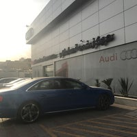 Photo taken at Audi Service Center by Fahad A. on 11/27/2017