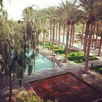 Photo taken at JW Marriott Phoenix Desert Ridge Resort & Spa by Adam B. on 2/28/2014