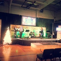 Photo taken at Stone Creek Community Church by Rachel B. on 12/21/2014