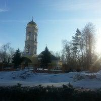 Photo taken at Храм Святителя Николая в Жегалово by Tatiana A. on 3/12/2013