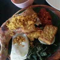 Photo taken at Restoran Ayam Penyet-AP by eka S. on 11/6/2013