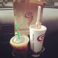 Photo taken at Jamba Juice Westlake Shopping Center by Jess B. on 10/12/2012