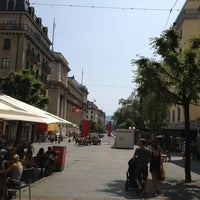 Photo taken at Rue du Mont-Blanc by Lalaina R. on 7/14/2013