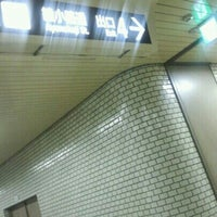 Photo taken at 四条駅 出入口4 by coma2619 アカウント切り替え (. on 3/4/2013