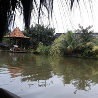 Photo taken at Saung Talaga by Ucie S. on 12/23/2013