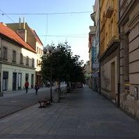 Photo taken at Ostrožná   Pěší zóna by Hana S. on 9/8/2017