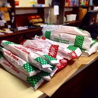 Photo taken at Genova Bakery by Stockton, California on 6/27/2014