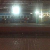 Photo taken at Thrissur Railway Station by Hiran S. on 3/3/2013