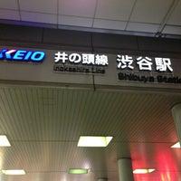 Photo taken at Inokashira Line Shibuya Station (IN01) by T3 on 3/28/2013