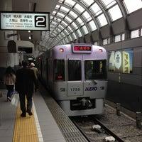 Photo taken at Inokashira Line Shibuya Station (IN01) by T3 on 4/11/2013