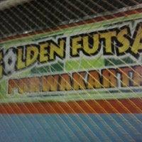 Photo taken at Golden futsal by Rikardo S. S. on 4/19/2013
