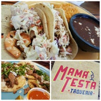 Photo taken at Mamá Testa Taqueria by Lysabeth L. on 11/7/2015