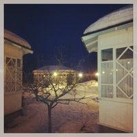 Снимок сделан в Ресторан «Бабушкин сад» пользователем Yarina O. 1/5/2013