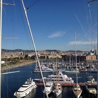Photo taken at OneOcean Port Vell Barcelona by Marina P. on 5/24/2013