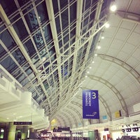 Photo taken at Terminal 3 by Michelle K. on 11/3/2012