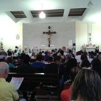 Photo taken at Paróquia Nossa Senhora de Fátima by Lincoln Q. on 12/15/2013