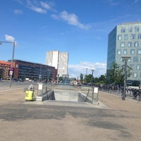 Photo taken at Busstop - Islands Brygge St. by Alexandra C. on 8/23/2013
