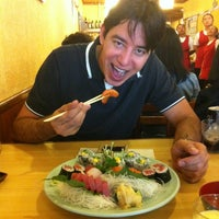 Photo taken at Sushi Yassu by Marcos R. on 12/31/2012