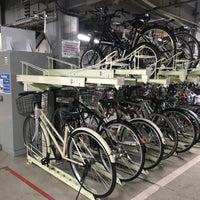 Photo taken at 京都駅ビル西駐輪場 by Sergey G. on 2/18/2017