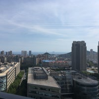 Photo taken at Dalian Software Park by 千 悦. on 9/14/2018