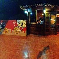Photo taken at Pizzabrosa Karaoke Bar by Jorgito D. on 9/14/2013