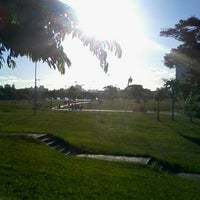 Photo taken at Parque Germânia by Francine D. on 1/21/2013