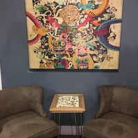 Photo taken at Six Shooter Coffee by Katie M. on 10/19/2017