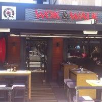 2/10/2013 tarihinde Mehmet B.ziyaretçi tarafından Wok&Walk'de çekilen fotoğraf